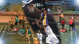 I GOT THE PIGGY BACK ANIMATION ON A LOCKDOWN DEFENDER! | NO ONE'S SAFE | NBA 2K17 MyPark