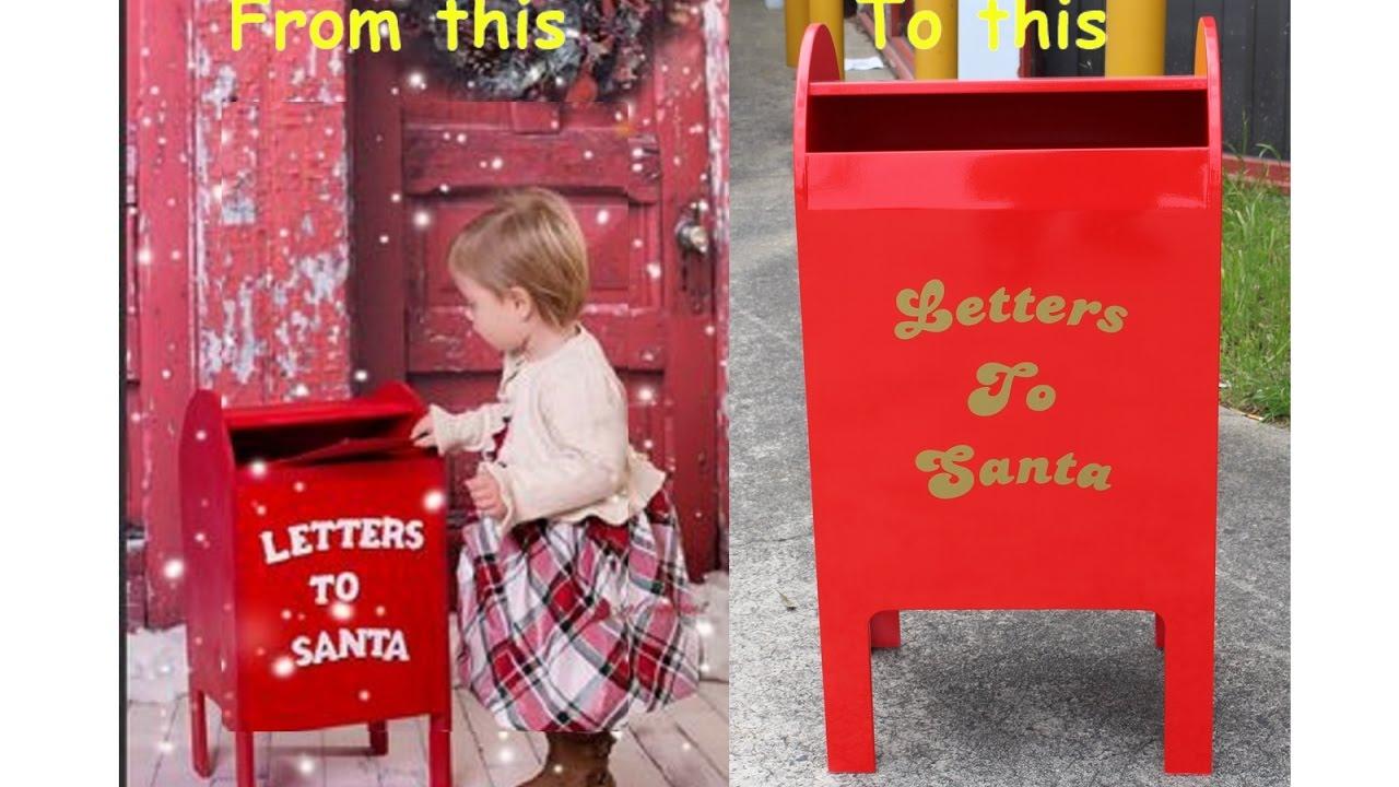 Making Santas Mailbox You