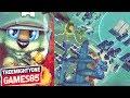 Battle Islands Online game play WAR! WSA TROOP 420 (green) vs ALIEN PROJECT (blue)
