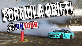 DRIFTLAND ON TOUR - We meet the Formula Drift Drivers! - Day 3