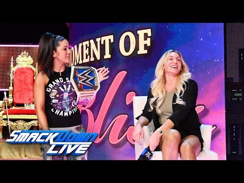 """Charlotte Flair challenges Bayley on """"A Moment of Bliss"""": SmackDown LIVE, Aug. 20, 2019"""