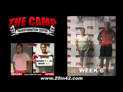Bakersfield Weight Loss Fitness 6 Week Challenge Results - Celia G.