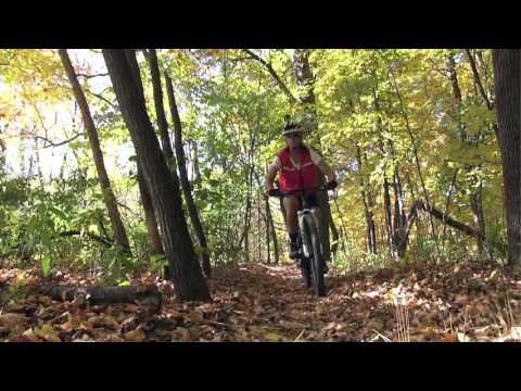 Kickapoo State Recreation Area: Mountain Bike Trails