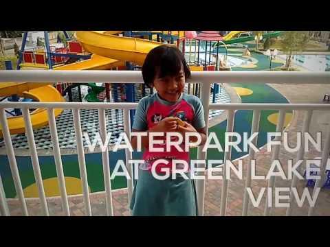 Waterpark Fun at Green Lake View, Depok, Indonesia