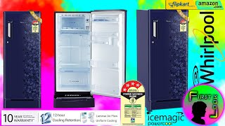 Whirlpool 190 L Single Door 4 Star Refrigerator Unboxing & Review | FIRST LOOK