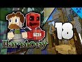 Minecraft Harmony | Fish Farm Loot & The Most OP Sword! | Multiplayer Modded Survival Episode 18