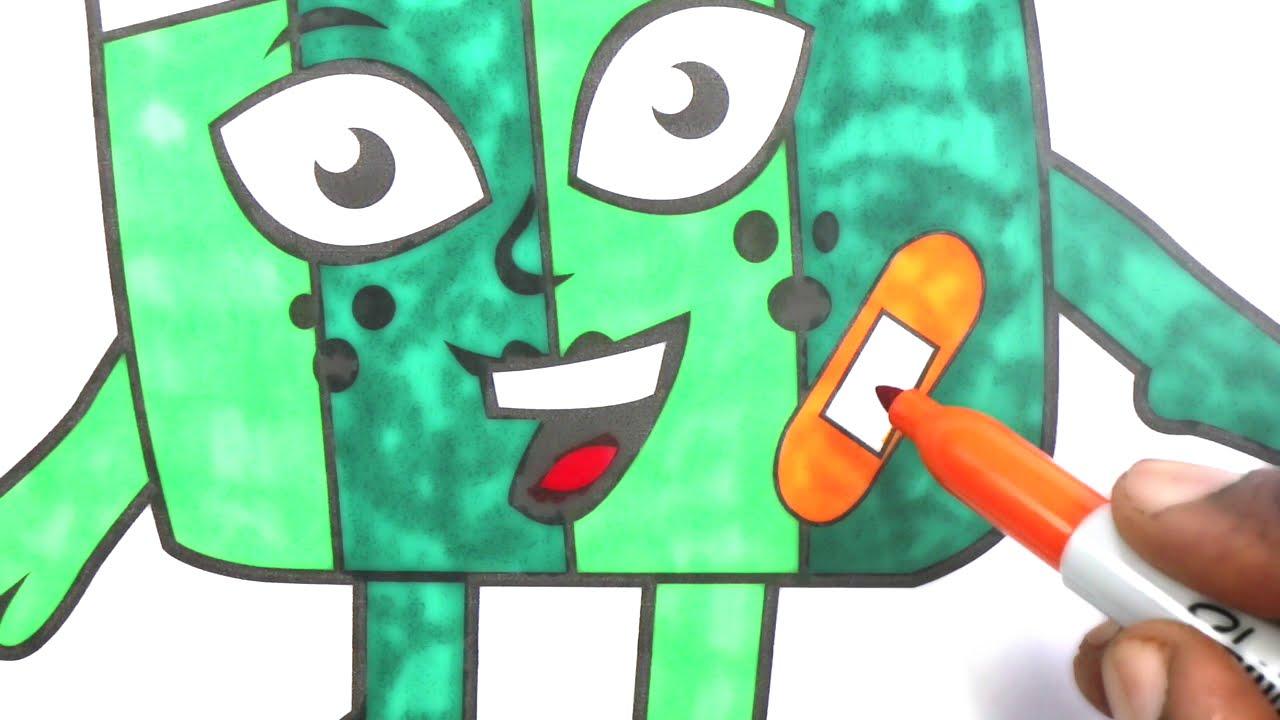 Alphablocks | Alphablocks Alphabets Coloring | Coloring for Kids ...