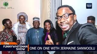FUNNYWHITEMAN SHOW: One on one with Jermaine Sanwoolu