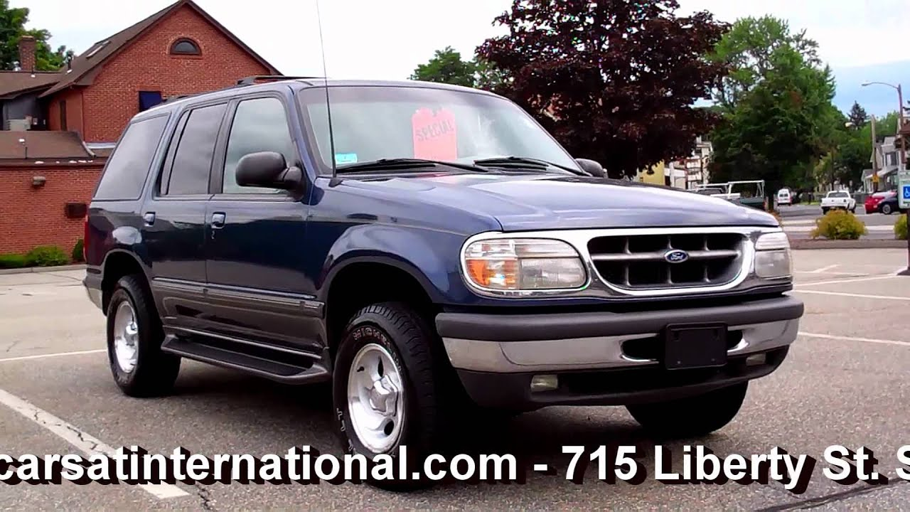 1998 ford explorer xlt 4wd v6 leather 3495 youtube
