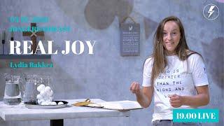 Jongerendienst | Real Joy | 05-07-2020 | Lydia Bakker