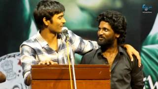 Dhanush at Kaasu Panam Thuttu Audio Launch