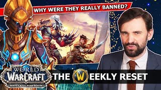 The Day Blizz Banned All Their Players, The 8.2 Release Date & The Upcoming Level Squish: WoW News
