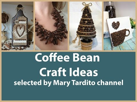 Coffee Bean Crafts Ideas – Nature Crafts to Make and Sell – Coffee Bean Christmas Crafts Inspo