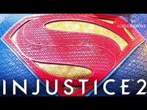 "JUSTICE LEAGUE Superman Vs JUSTICE LEAGUE Batman Epic Gear! Injustice 2 ""Superman"" Justice League"