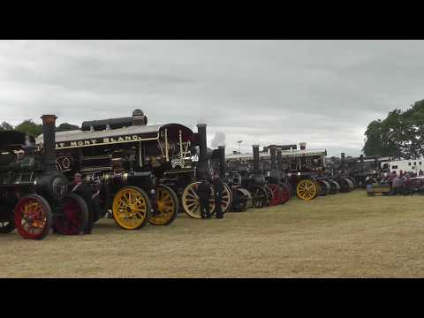 Steam Vehicles  in the Arena - Bloxham Rally England 2017