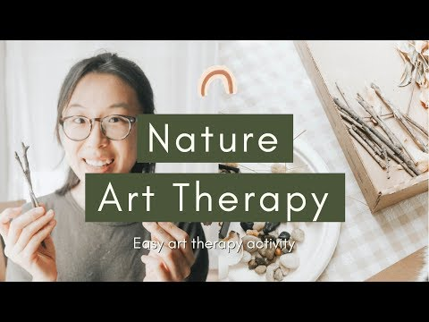 Nature Art Therapy Activity
