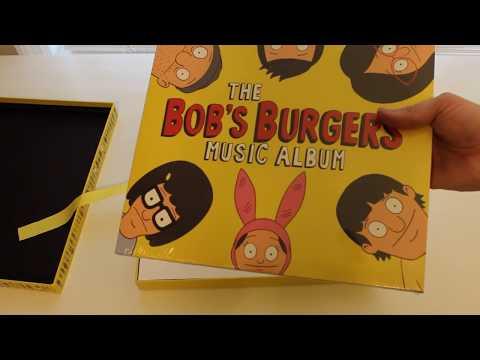 Bob's Burgers Music Album Deluxe Boxset - The Unboxing!