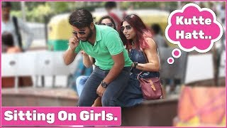 Sitting on Cute Girls Prank | RDS Production