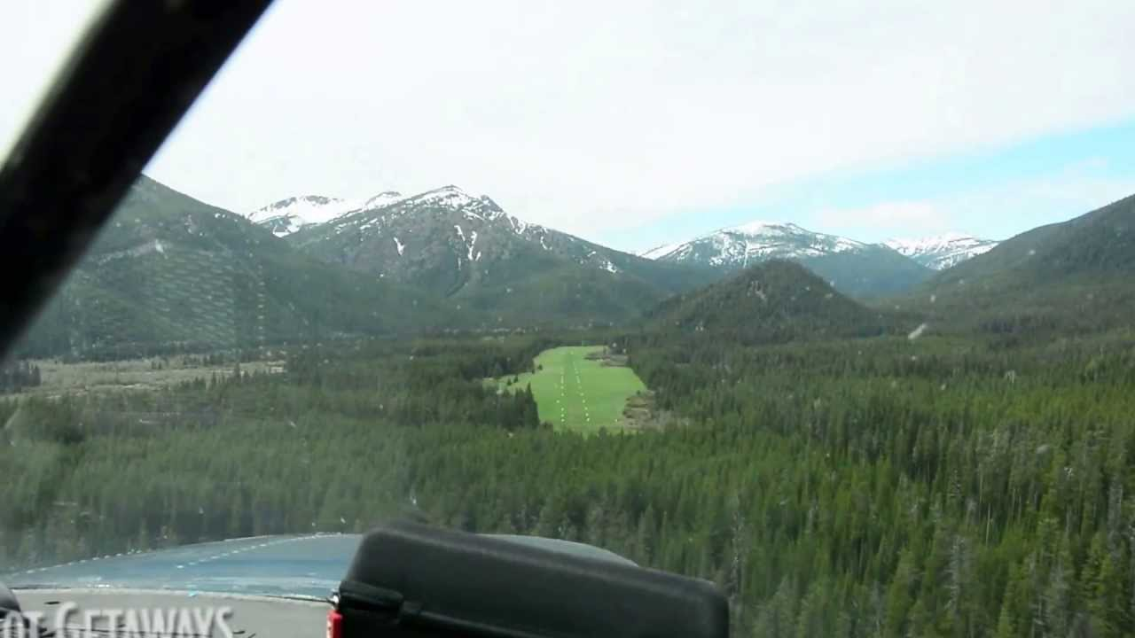 Montana landing strip