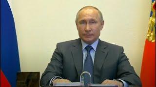 Владимир Путин провел совещание по ситуации с коронавирусом