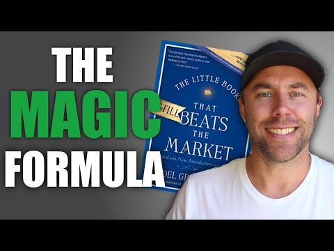 THE MAGIC FORMULA FOR PICKING STOCKS (The Little Book That Beats The Market by Joel Greenblatt )