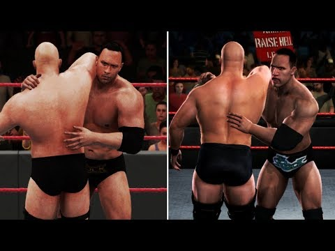 WWE 2K18 vs SVR 2008 - 15 Finisher Comparisons! (Which Are Better?)
