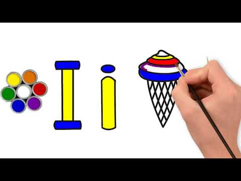 Ice Cream Drawing And Coloring For Kid Children Verygood Youtube