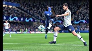 FIFA 20 Demo - Chelsea vs Tottenham Hotspur UEFA Champions League - (CPU vs CPU) FIFA 20 Gameplay