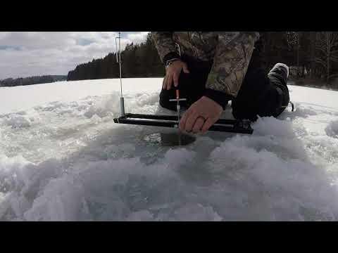 Hills Creek Tioga County Ice Fishing  February 28,2019