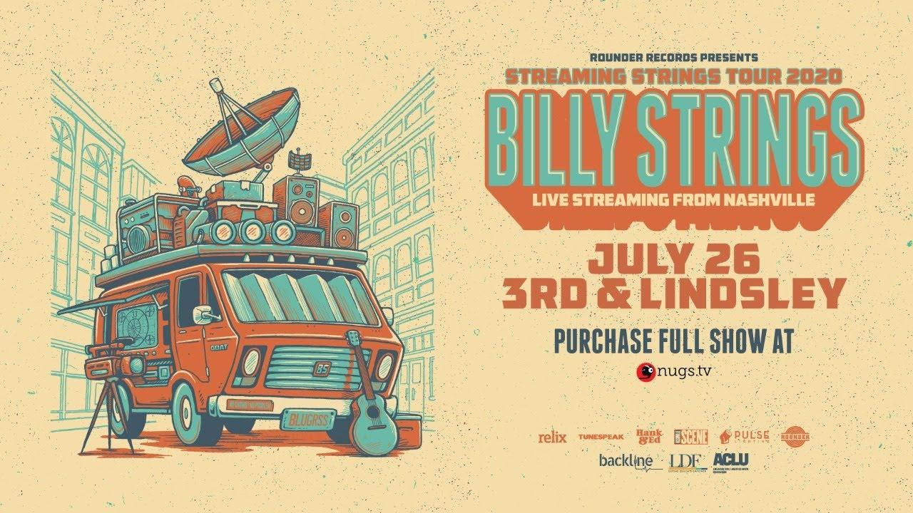 Billy Strings Live From 3rd & Lindsley Nashville :: 7/26/20 :: Sneak Peek