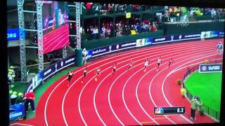2012 Olympic Trials (Women 200M final)