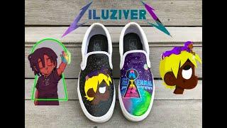 """Lil Uzi Vert """"ETERNAL ATAKE"""" Custom VANS (Tutorial)"""
