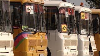 Школьные автобусы и дорожную разметку проверяют перед началом учебного года на Кубани