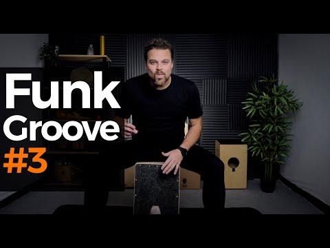 CAJON GROOVE LIBRARY - Funk #3 Steve Jordan's style