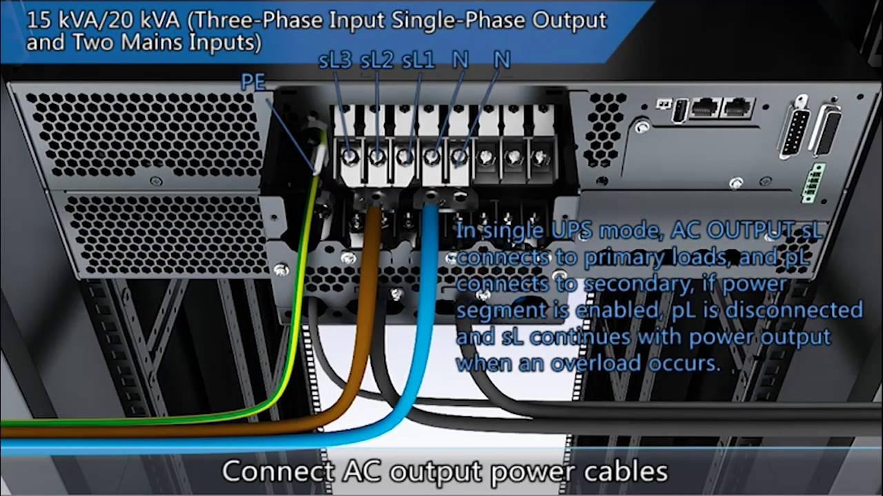 Huawei UPS - UPS2000-G (6-20 kVA) szünetmentes tápegység (telepítési  útmutató)