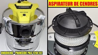пилосос золи lidl parkside не 1200 deballage Ash Vacuum Cleaner Aschesauger