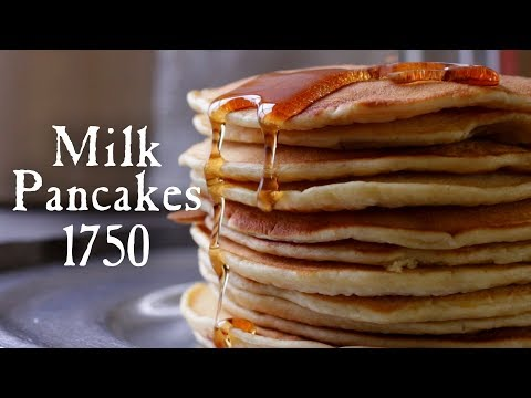 18th Century Milk Pancakes - 18th Century Cooking Series with Jas. Townsend and Son S3E10