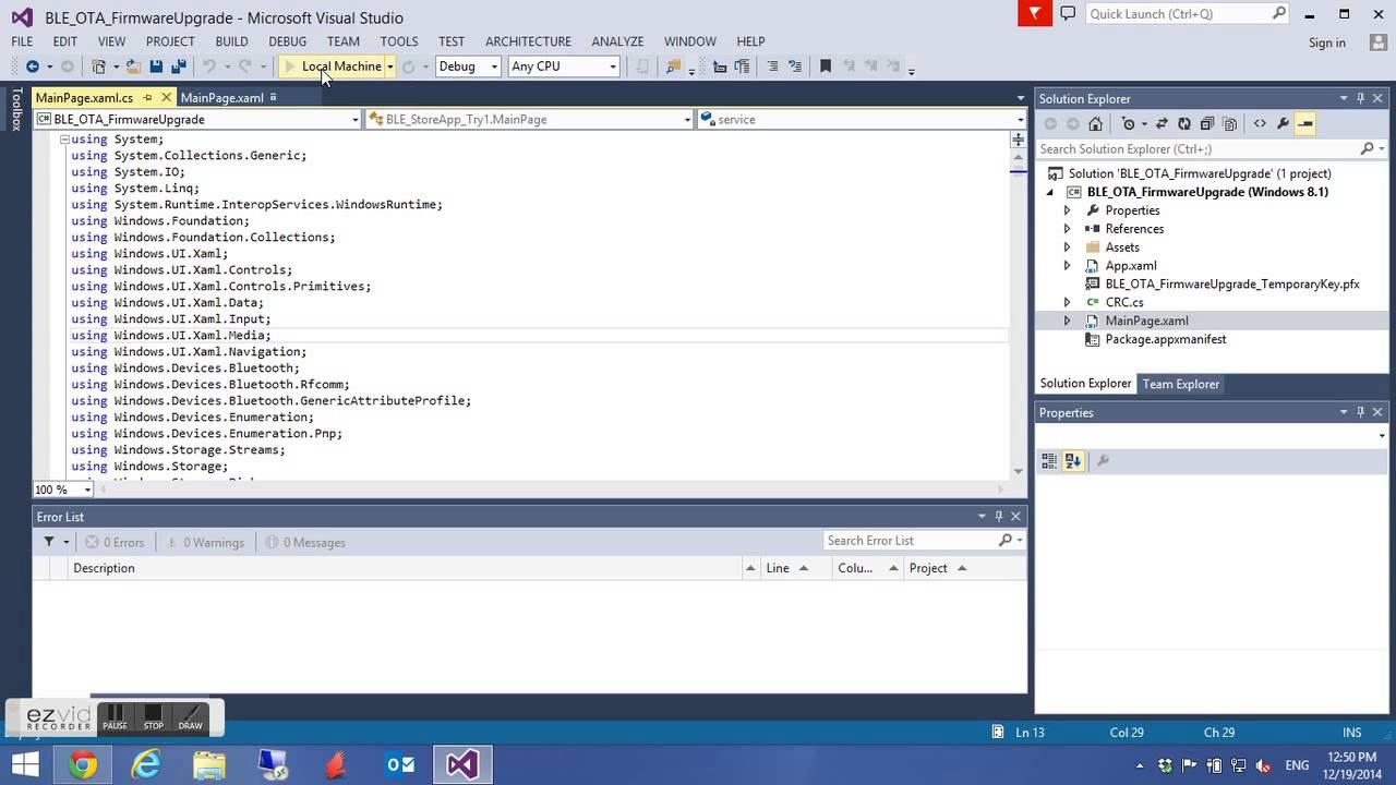 Arduino OBD2 Bluetooth 4 0 OTA Firmware Upgrade Tool