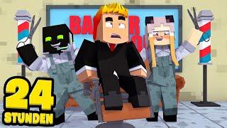 24 STUNDEN als FRISEUR ARBEITEN?! - Minecraft [Deutsch/HD]