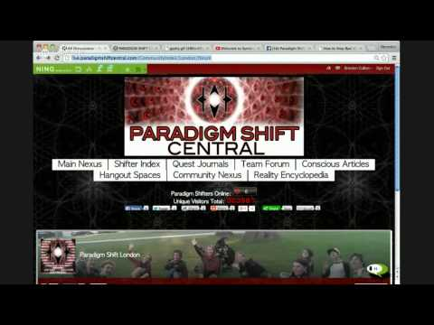 NEW Paradigm Shift Central: Livenet Broadcast + Hangout Party. 07/26/25