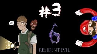 Residential Evil - Resident Evil 6 Ada Campaign Walkthrough / Gameplay w/ SSoHPKC Part 3 - 50 Questions