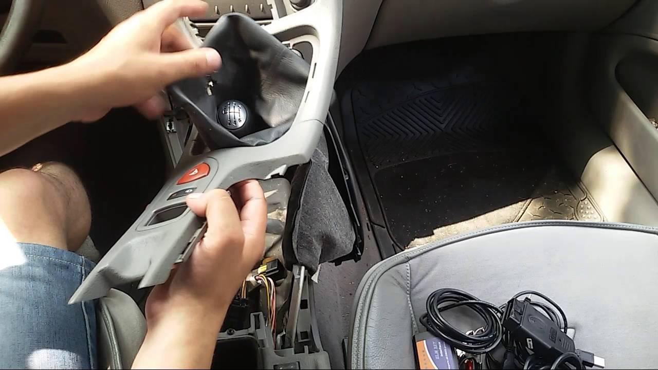 Renault Laguna 2 Wymiana żarówki Podświetlenia Popielniczki I Gniazda Zapalniczki