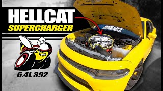 Hellcat Supercharger on 392