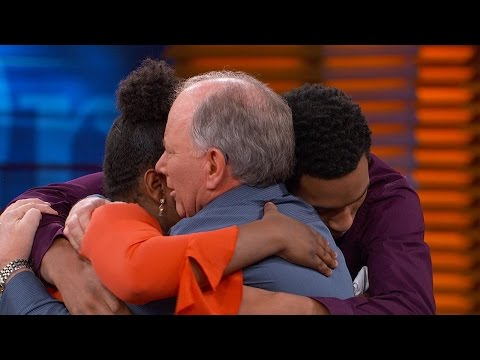 Watch Emotional Meeting Between Teens And Man Who Helped Save Them From Abusive Parents