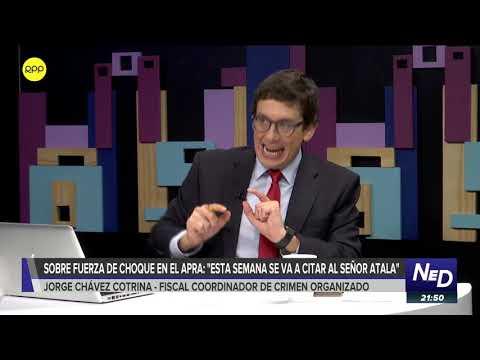 """Fiscal contra el Crimen Organizado: """"Atala tiene que darnos información corroborable"""""""