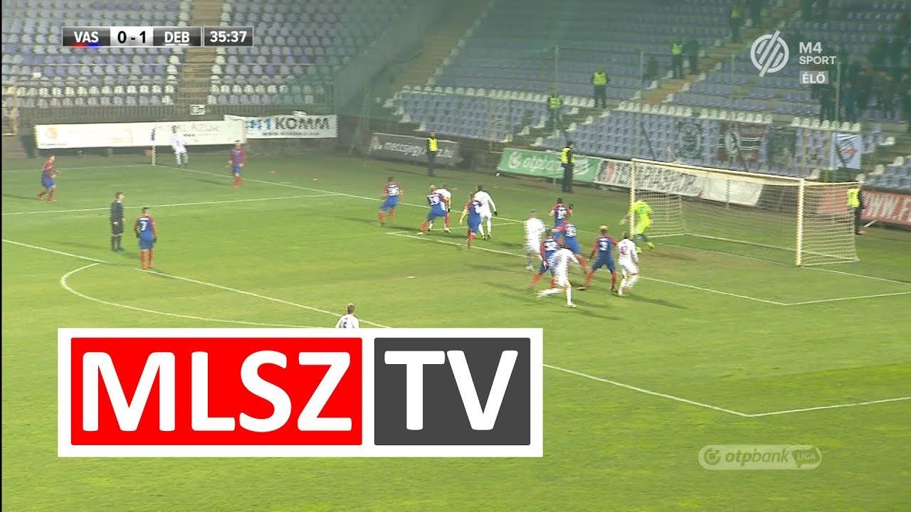 Takács Tamás duplázása a Vasas FC - DVSC mérkőzésen