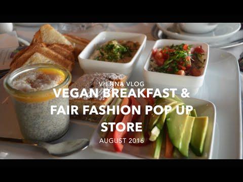 VEGAN BREAKFAST & FAIR FASHION POP UP STORE I Vienna Vlog