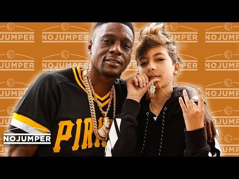 Boosie introduces his 13 year old white artist LIL BLURRY