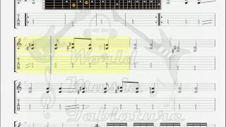 Dark Funeral   Open The Gates GUITAR 2 TAB