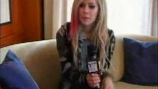 Avril on MTV Russia